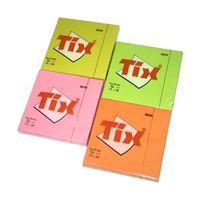 AERO Бумага самоклеющаяся TIX 75x75/100 Neon розовая
