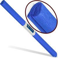 INTERDRUK Бумага креповая INTERDRUK Classic 200x50см синяя