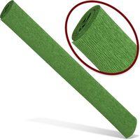 INTERDRUK Бумага креповая INTERDRUK Premium 200x50см зеленая