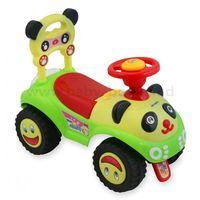 Baby Mix UR-7601 Машинка Панда красно-зеленая