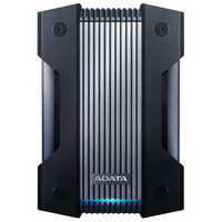 "4.0TB (USB3.1) 2.5"" ADATA HD830 Water/Dustproof IP68 External Hard Drive, Black (AHD830-4TU31-CBK)"