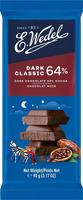 Горький шоколад Wedel 64%, 90г