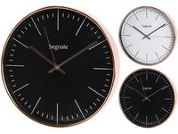 купить Часы настенные круглые D30cm, корпус медный цвет в Кишинёве