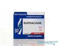 Bupivacaina sol. inj. 0,5% 4 ml N5 (Balkan)