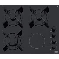 Газовая панель Franke Crystal FHX 604 3G 1C BK C Cristal Black