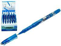 Ручка со стирателем, 0.7mm синяя
