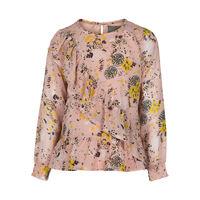 Блуза CREAMIE Бежевый с принтом 821242 creamie
