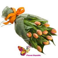 купить Букет  из Оранжевых тюльпанов в Кишинёве
