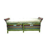 купить Стул-скамья с двумя плетенными ящиками из ротанга1420х410х560 мм в Кишинёве