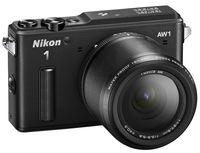 Фотоаппарат цифровой со сменной оптикой Nikon 1 AW1 + 1 Nikkor AW 11-27.5mm Black