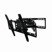 "Wall Mount  Gembird ""WM-80RT-01"" Black 32""-80"", 50kg, VESA:up 600x400"