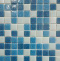 Mozaică din sticlă A30+A32+A31 (mix albastru 3 culori)