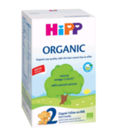 Hipp 2 Organic молочная смесь, 6+мес.800 г