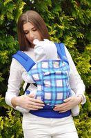 Эрго рюкзак NapBag by Bagy Blue Plaid