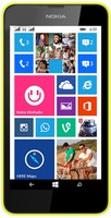"Nokia 630, 4.5"" 854x480 5Mpix QuadCore 1.2GHz 512Mb 8Gb Yellow"