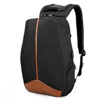 """Pюкзак городской Tigernu T-B3593 для ноутбука 15.6"""", с USB портом, водонепроницаемый, чёрный"""