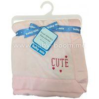 Baby Mix  SH-45550 CL Покрывало (80х110 см.) розовое