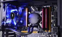 "DEEPCOOL Liquid Cooler ""MAELSTROM 120T Blue"", Socket 775/1150/1151/1155/2011 & FM2/AM3+"