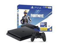 Game Console  Sony Playstation 4 Slim 500GB Black, 1 x Gamepad (Dualshock 4) + Fortnite