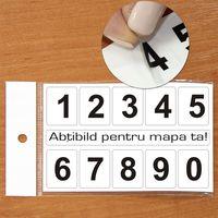 "Наклейка ""ЦИФРЫ"" 2x2.5см/0-9"