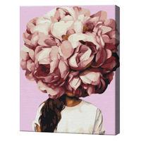Mireasmă de flori, 40х50 cm, pictură pe numere  BS36700