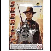 Значок шерифа пластмассовый, код 44088
