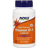 Vitamine D3 360 softgels