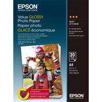 Epson Value Glossy Photo Paper, A4 183g 20p