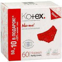 Kotex прокладки Normal 60шт