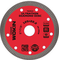 Disc de diamant ultra-subțire 125x1mm (Prof) Wokin