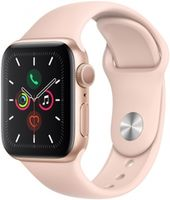 Apple Watch 5 40mm Gold Aluminum Case Pink Sport Band