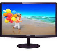 """21.5"""" Philips """"227E6LDSD"""", Black (1920x1080, 1ms, 250cd, LED20M:1, DVI+HDMI+D-Sub, Audio-Out) (21.5"""" TN W-LED, 1920x1080 Full-HD, 0.248mm, 1ms GTG SmartResponse, 250 cd/m², DCR 20 Mln:1 (1000:1), sRGB 16.7M Colors, 178°/178° @C/R>10, 30~83 KHz(H)/ 56~75Hz(V), HDMI-MHL + DVI-D + D-Sub, HDMI Audio-In, Headphone-Out, External Power Adapter, Fixed Stand (Tilt -5/+20°), Touch controls, Black Cherry Glossy)"""