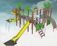 Complex de joacă EBS Panda 122