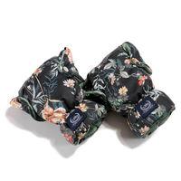 Варежки для коляски La Millou Blooming Boutique Noir