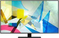 TV QLED Samsung QE50Q80TAUXUA, Silver