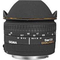 Prime Lens Sigma AF  15mm f/2.8 EX DG FISHEYE F/Can