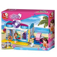 Sluban Girls Dream Constructor Beach Shop