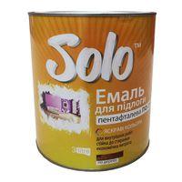 Solo Эмаль ПФ-266 Желто-коричневая 2.8кг