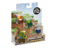 Набор из 3-х мини-фигурок Minecraft, код CGX24