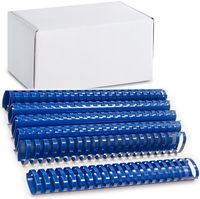 ARGO Пружина пластиковая ARGO A4/51мм, 50 штук, овал синяя