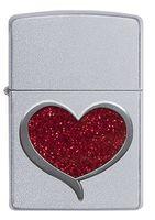 Zippo 29410 Glitter Heart