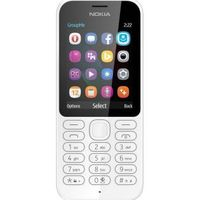 Nokia 222 Duos White