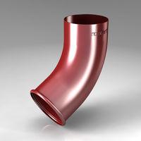 Колено нижнее Scandic (87 mm)  Цвет - Бордовый