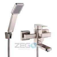 купить Смеситель д/ванны Zegor LEB3-H A123KH (нерж) короткий излив K-40 в Кишинёве