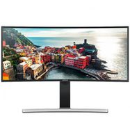 """34.0"""" SAMSUNG """"S34E790C"""", G-Black (PLS-Curved, 3440x1440, 5ms, 320cd, LED40M:1, DP+HDMI, Spk, HAS) ( 34""""Ultra-wide (21:9), VA-Curved LED, 3440x1440 UWQHD, 0.232mm, 4ms GTG, 300 cd/m², Mega-DCR, 16.7 million colors, 178°/178° @C/R>10, DisplayPort + HDMI x2, HDMI-Audio-In, Headphone-Out, Built-in speakers 7Wx2, USB 3.0 x4-Hub, External Power Adaptor, HAS 100mm, Tilt -7/+20°, Swivel +/-170°, VESA Mount 100x100 : MultiView PIP/PBP mode,  Black High Glossy)"""