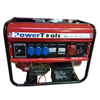 Генератор бензиновый 5 kW 400 В электростартер PowerTools BT-6500LE