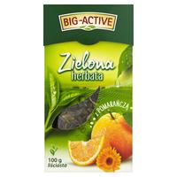 Чай зеленый Big Active with Orange, 100 гр