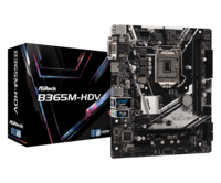 """MB ASRock B365M-HDV mATX //  CPU Supports 9th and 8th Gen Intel® Core™ Processors """