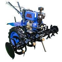Мотокультиватор дизельный LUX X135 E BUIVOL 10HP + Freza