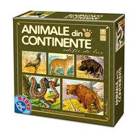Joc de masă Animale din Continente, cod 41323